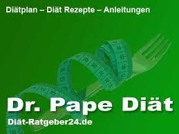 Dr pape diätplan zum ausdrucken