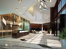 office interior design concepts. Corporate Office Interior Design. The Entrance Area Concept For A Business Center Was Developed By Design Concepts