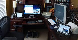lovely home office setup. Mac Setups: IOS Developers Home Office Lovely Setup M