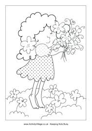 Flower Garden Time Relax Coloring Pages Adult Spring Break Pictures Page