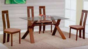wooden dining furniture. Simple Dining Table Designs In Wood And Glass Ideas Fulal Wooden Furniture