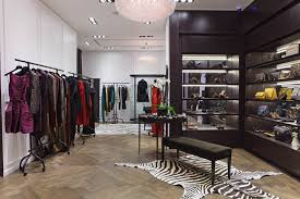 A sleekchic faade dipped in a black hue gives an elegant appeal to the  boutique balanced by fun and creative window displays that capture  Lanvinu0027s