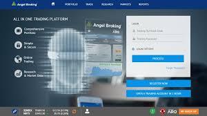 Angel Broking Trade Review Web Based Trading Platform