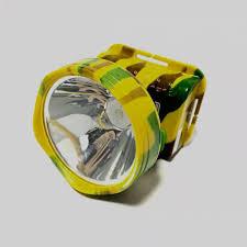 Đèn pin sạc điện đội đầu rằn ri kiểu dáng quân đội siêu sáng