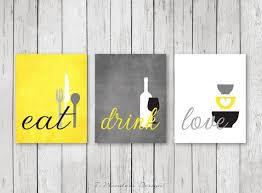 image wall decorations kitchen: styling kitchen wall art decor modern kitchen eat drink love art prints beautiful fresh