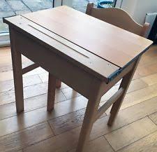 wooden school desk and chair. Wooden School Desk And Chair (Morleys) D