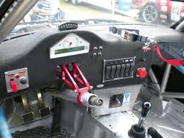 race car interior layout pics all switches gauges are setup deutsch connectors and the dash is mounted dzus fasteners so it can be removed quickly if needed my ecu fuse block
