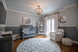 new orleans little man baby shower decorations with drum chandeliers nursery transitional and gray crib enclosed
