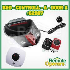 b d contoll a door s garage sectional tilt door opener incl smart phone control kit