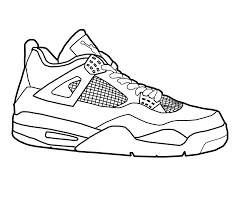 1280x1067 basketball shoe coloring pages shoes children throughout jordan