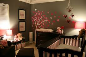 wooden baby nursery rustic furniture ideas. Pink Gray Nursery Dark Wood. I Really Like This For A Baby Girl. Only Wooden Rustic Furniture Ideas R