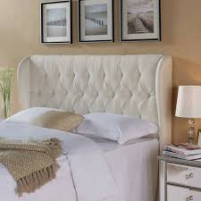 tufted upholstered beds. Better Homes And Gardens Scalloped Wingback Tufted Upholstered Headboard  Full/Queen Sand Tufted Upholstered Beds
