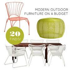 affordable modern outdoor furniture. 20 Finds For Affordable And Modern Outdoor Furniture Affordable Modern Outdoor Furniture Pinterest