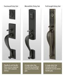 exterior door lock set. door lock plate styles exterior set k