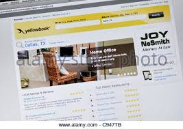 yellow pages yellow pages phonebook stock photo