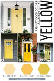 colored front doors7 FRONT DOOR COLORS TO MAKE YOUR HOME STAND OUT  Interior