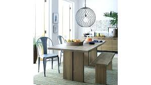 crate and barrel dining table round marble