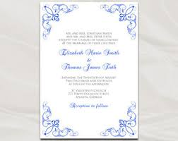 purple and gold wedding invitation template gold foil stripe Editable Pdf Wedding Invitations royal blue wedding invitation template, diy printable blue silver bridal shower party invites, editable downloadable editable wedding invitations