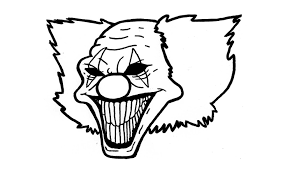 Comment Dessiner Un Clown Pas Pas Clown Mauvais Tueur Youtube