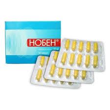 Лекарственное средство <b>Нобен</b> капс. <b>30мг</b> №<b>30</b> ( БИННОФАРМ ...