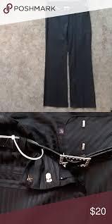 Dress Pants Slacks With Belt 63 Polyester 34 Rayon 3