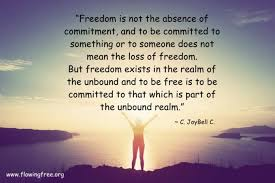 Commitment Quotes Extraordinary Quotes On Commitment Flowing Free