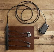 roll up leather charger