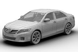 2010 Toyota Camry 3D model | CGTrader