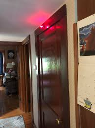 this red light above my grandfather s basement door to indicate that he s down there i redd it