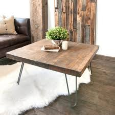 mediun size of pretty wooden coffee table with hairpin legs white shanty round ottoman diy world