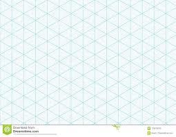 Isometric Graph Paper Background Plotting Triangular Vector Ruler