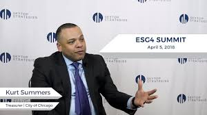 Kurt Summers, Treasurer of Chicago, Talks Incorporating ESG from the State  Level | Skytop Strategies - YouTube
