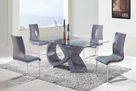 Dining Room Table Sets Leather Chairs Collection Simple Design Ideas