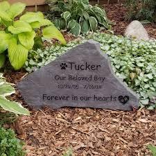 flagstone pet memorial garden stone