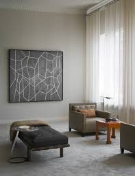 View in gallery Taupe and grey in a modern living room