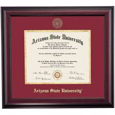 arizona state school color traditional diploma frame arizona  arizona state school color traditional diploma frame