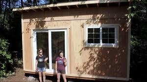 tiny house build foundation and