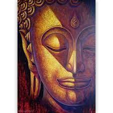 good luck buddha painting home