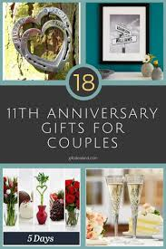 18 best 11th anniversary gifts for a happy