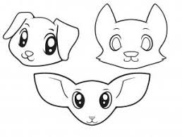 dog face drawing for kids. Contemporary Kids Here Is What Your Doggies Look Like When You Are All Done Now Can Go  Ahead And Color Them In Even Draw Some Simple Bodies I Hope Had Fun  Intended Dog Face Drawing For Kids T