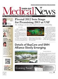 Tampa Bay Medical News January 2013 By Fw Publishing Issuu
