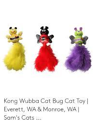 Mung Kong Kong Web Kong Wubba Cat Bug Cat Toy Everett Wa