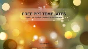 Ppt Backgorund Light Dots Abstract Ppt Templates
