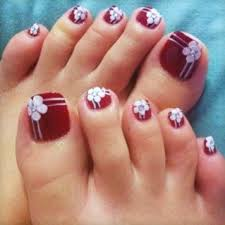24 Nail Designs For Toes Pictures Nailspix