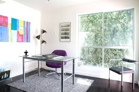 contemporary glass office. Image By Modiano Design Contemporary Glass Office