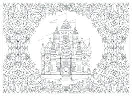 Enchanted Forest Coloring Pages Coloring Book Coloring For Pretty