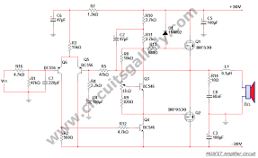mosfet amplifier circuit diagram info 50 watt power mosfet amplifier circuit diagram circuits gallery wiring circuit