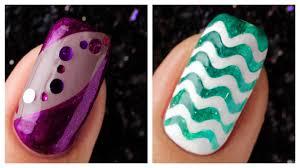 simple nail art design 2019 pilation cute nails art ideas pilation 41
