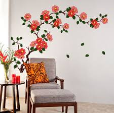 Small Picture 5700080 Wall Stickers Floral Branch Living Room Background
