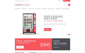 Vending Machine Website Stunning Vending Machines PrestaShop Theme 48